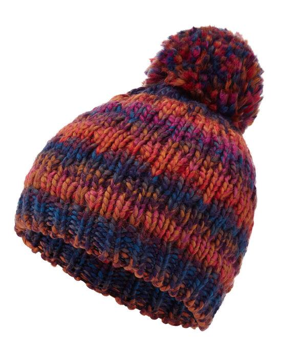 Space Dye Bobble Hat