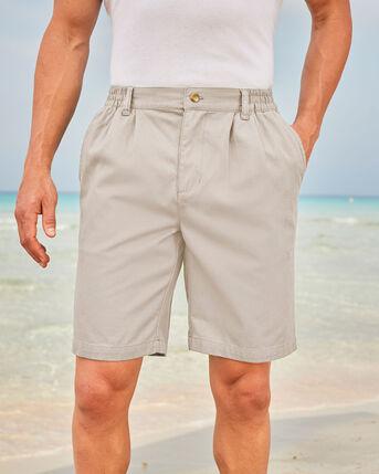 Pleat Front Comfort Shorts