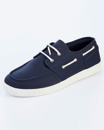 Canvas Boat Shoes