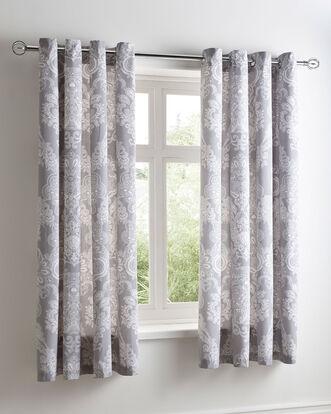"Avbury Eyelet Curtains 66X72"""