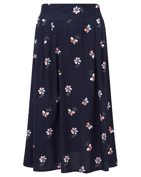 Easy Wear Print Skirt