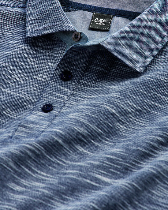 Luxury Textured Polo Shirt