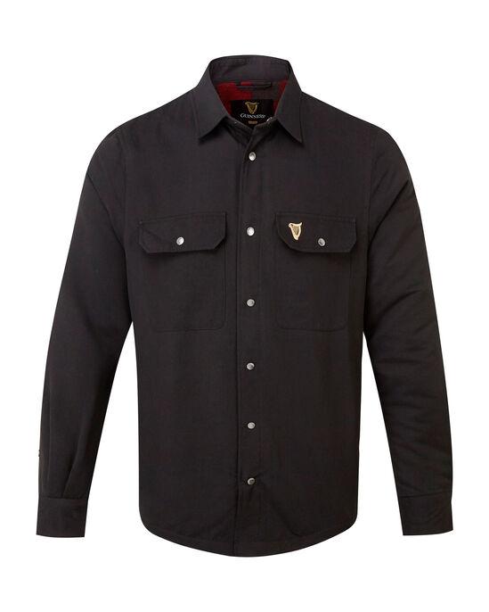 Guinness Fleece Lined Shirt