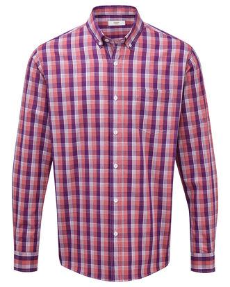 Long Sleeve Poplin Shirt