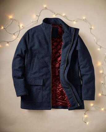 Luxury Wool Blend Coat