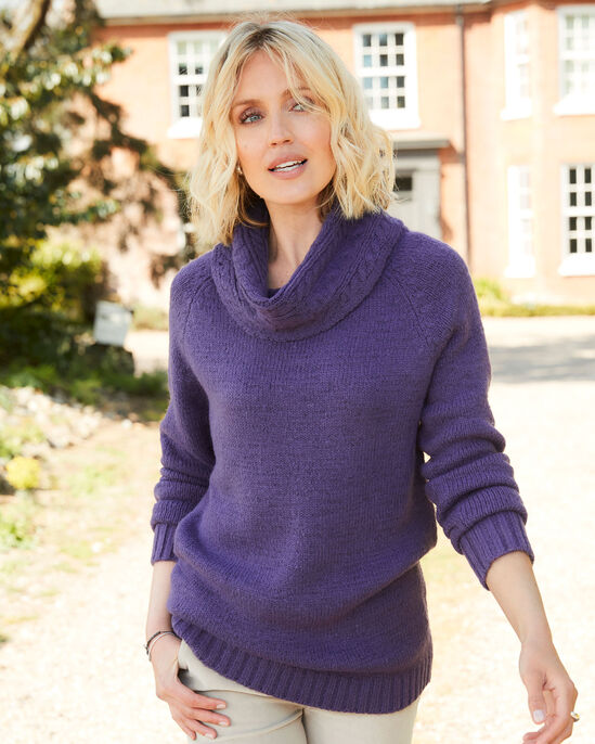 Lovely Cable Knitted Tunic