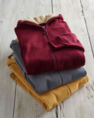 Luxury Fleece Hooded Jacket