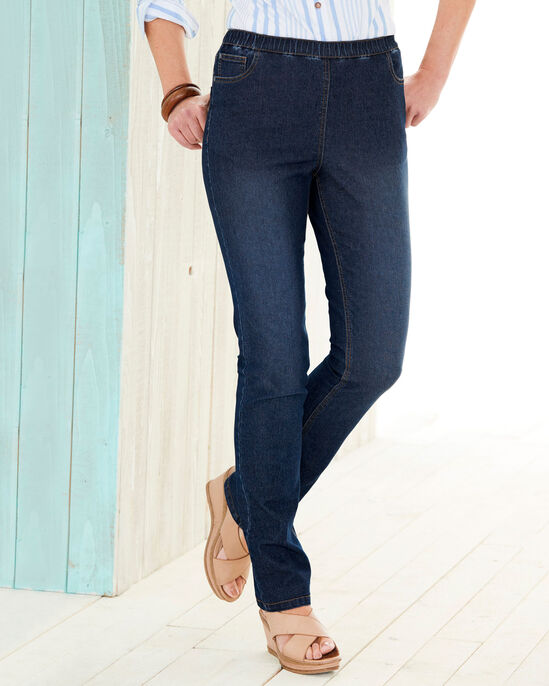 Elasticated Pull-on Jeans