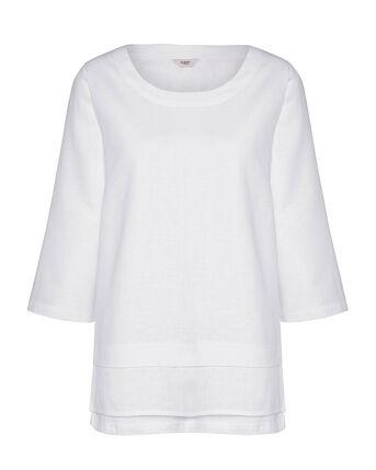 Cotton Linen Blend Top