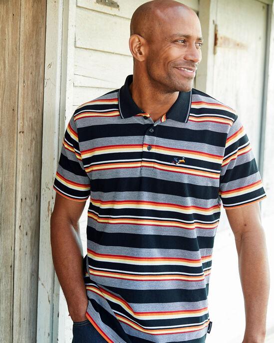 Guinness™ Short Sleeve Stripe Polo Shirt