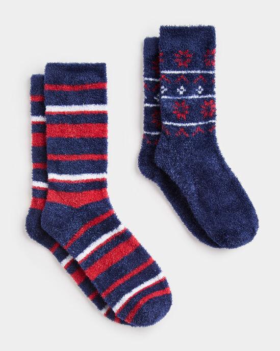 2pk Bed Socks