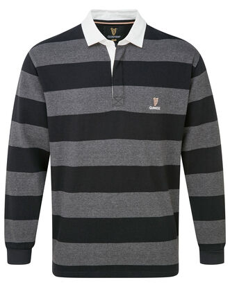 Guinness Hooped Stripe Rugby Shirt