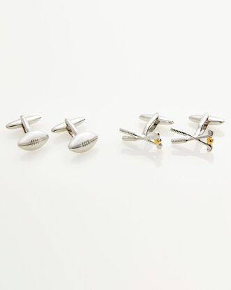 Sporting Cufflinks Set
