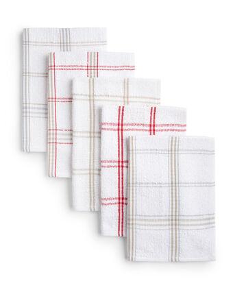 Pack of 5 Tea Towels