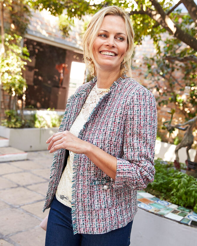 Women's Jackets for All Seasons | Boucle Jacket | By Cotton Traders