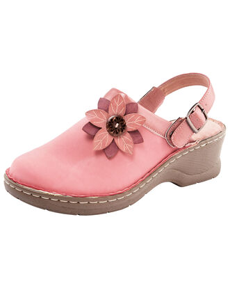 2-in-1 Flower Detail Clogs
