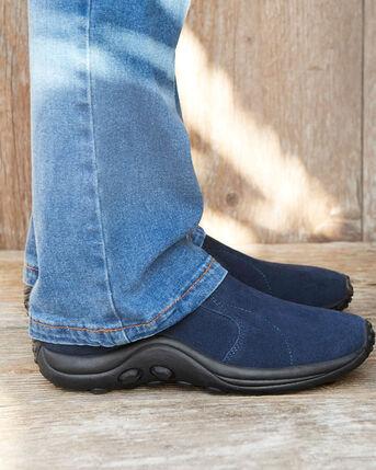 Men's Comfort Fit Suede Slip-ons