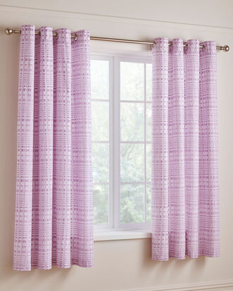 Tamzin Eyelet Curtains 66x72""