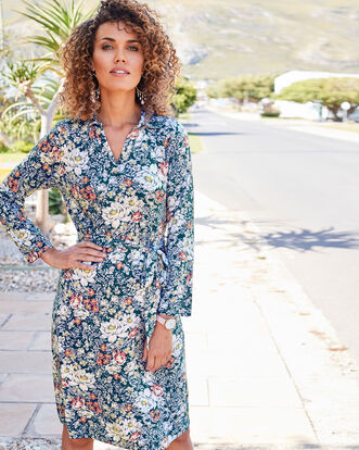 The Forever Midi Jersey Dress