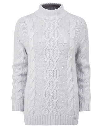 Embellished Cable Jumper