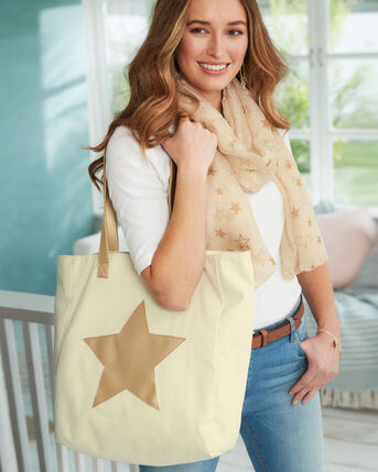 Metallic Star Bag