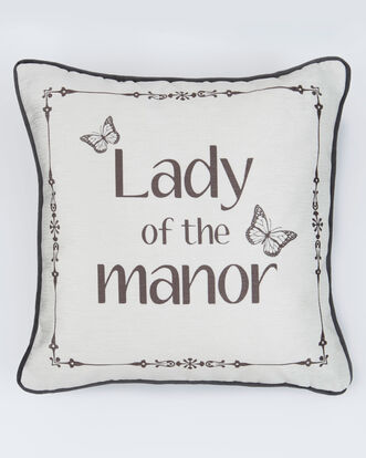 Lady of the Manor Cushion