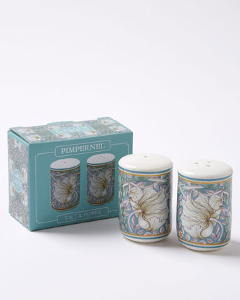 William Morris Pimpernel Salt and Pepper Set