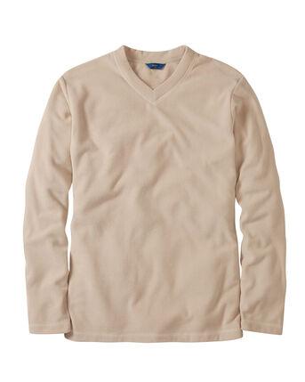 Fleece V-Neck Top