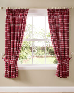 Stirling Pencil Pleat Curtains 66x72""