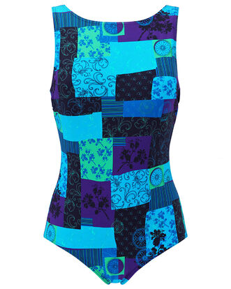 Patterned Swimsuit