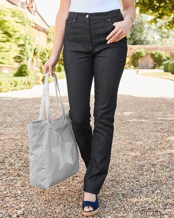 Magic Comfort Straight Leg Jeans (Denim)