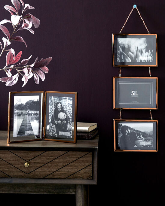 Triple Hanging Photo Frame