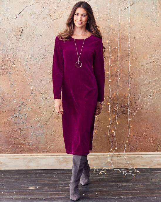 Jersey Cord Dress