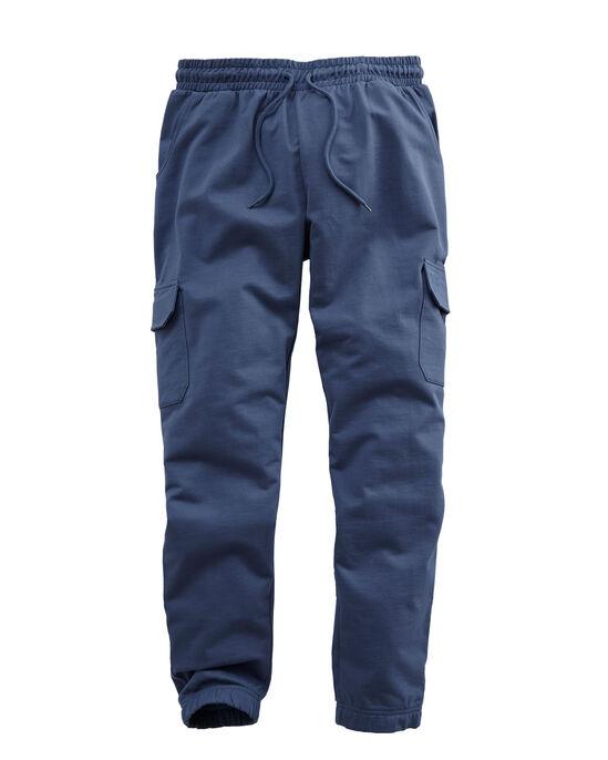 Cotton Cargo Cuff Hem Jog Pants