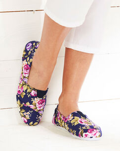 Floral Slip-on Shoes