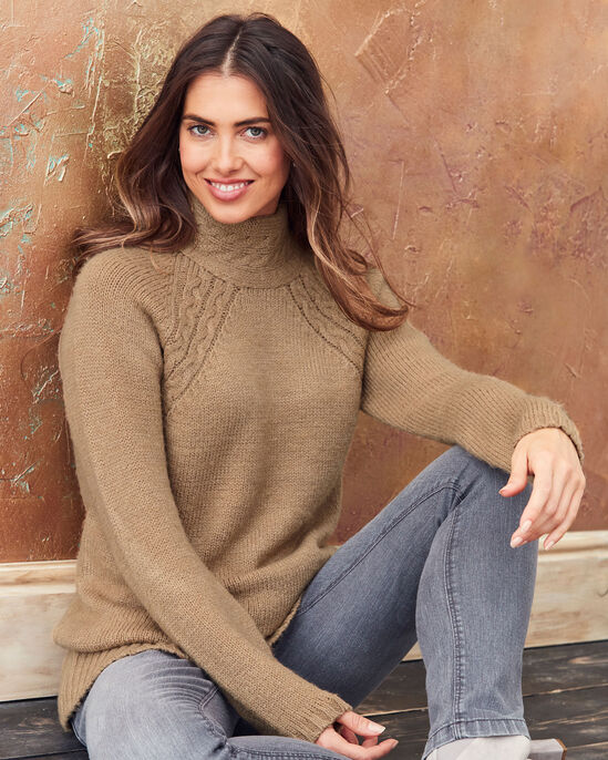 Cable Neck Tunic