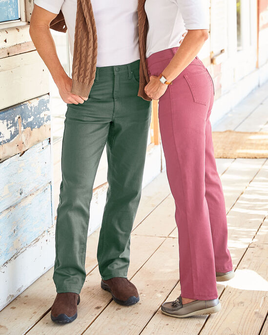 Mens Coloured Stretch Jeans