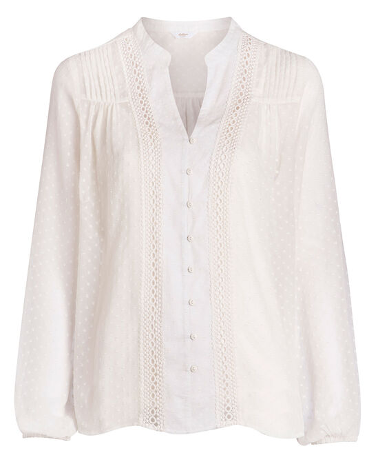 Long Sleeve Blouse and Cami