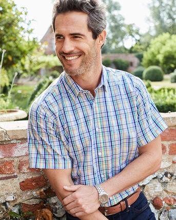 Short Sleeve Easy Iron Taylor Shirt