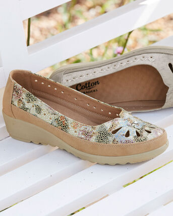 Flexisole Slip-on Flower Shoes