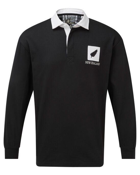 Long Sleeve New Zealand Classic Rugby Shirt