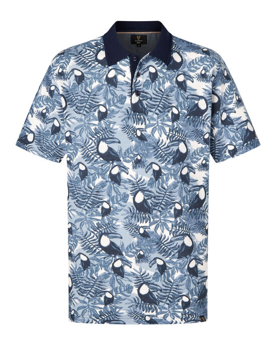 Guinness Toucan Print Polo Shirt at Cotton Traders 6bee7b9ac