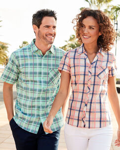 Men's Seersucker Shirt
