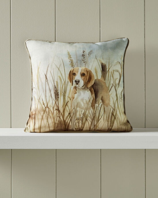 Country Dog Cushion