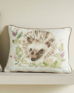 Country Hedgehog Cushion