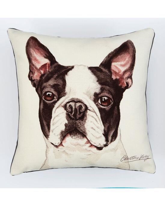 Waggy Dogz Boston Terrier Cushion