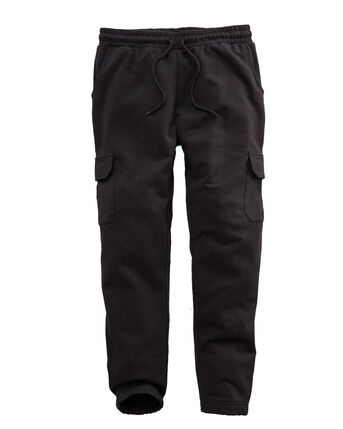 Cotton Cargo Cuff Hem Jog Pants