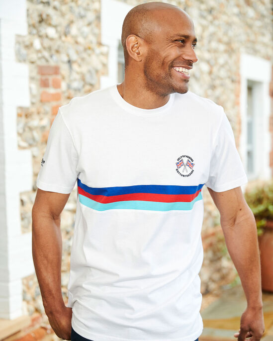 Help For Heroes Short Sleeve Panelled T-shirt