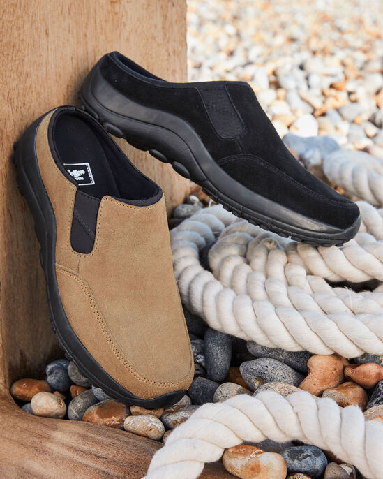 Lightweight Suede Clogs