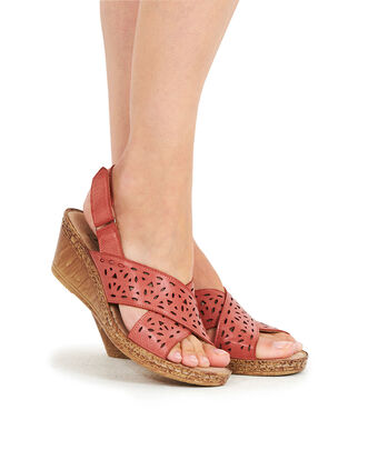 Flexi Wedge Cross Over Sandals